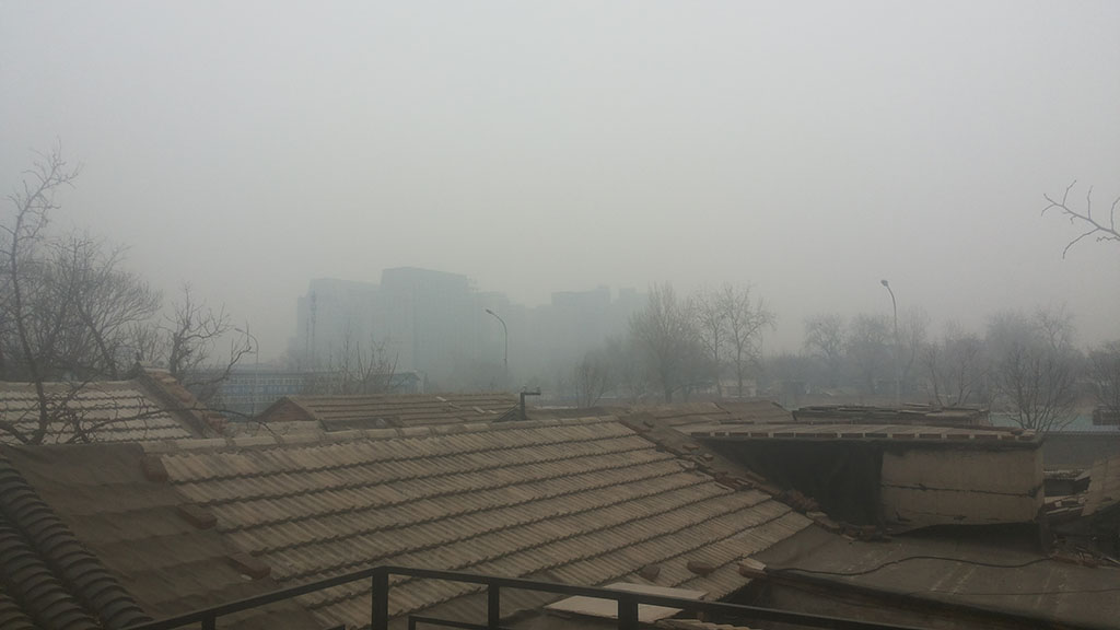 On a smoggy day