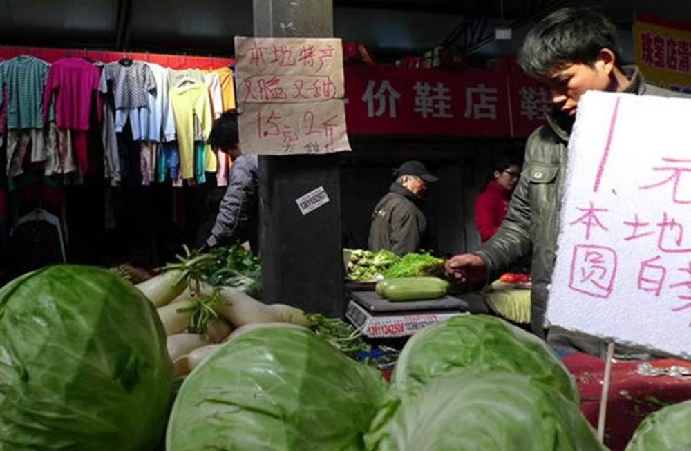 Beijing neighborhood markets