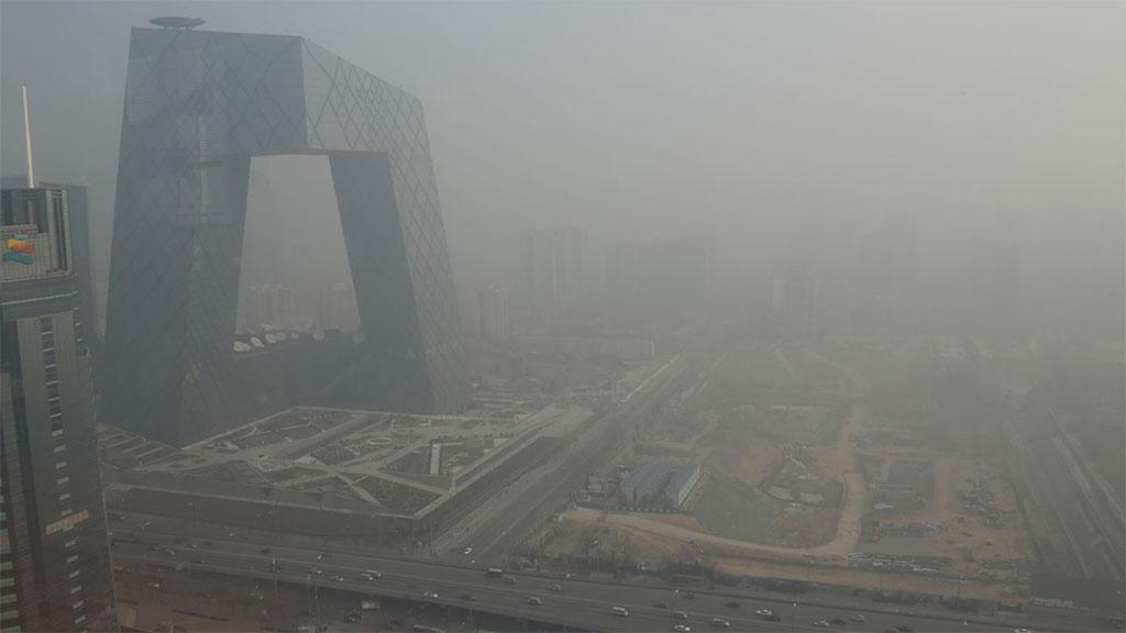 Beijing's smog problem