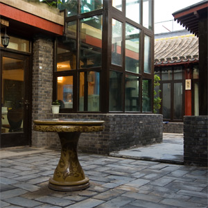 Traditional Hutong Courtyard