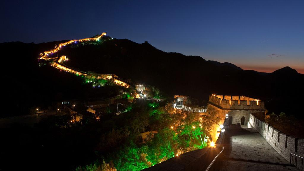 The Great Wall at八达岭