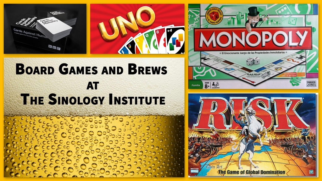 Enjoy an evening of board games and brews with our event next Tuesday!