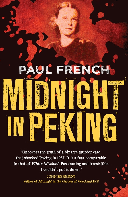 Midnight in Peking's book cover