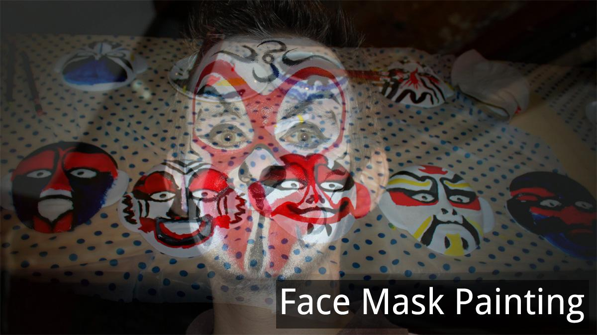 face mask painting