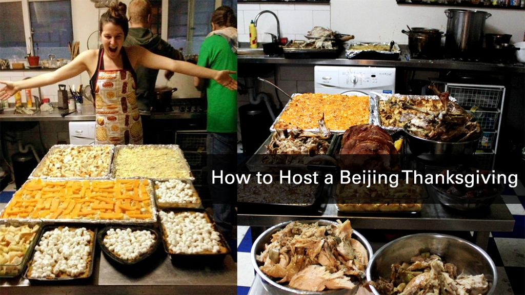How to Host a Beijing Thanksgiving?