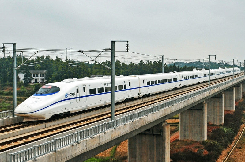 New generation of chinese trains
